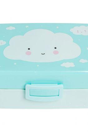 Fiambrera nube azul A Little Lovely Company
