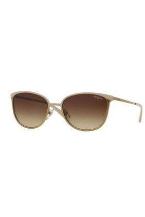 Comprar online Gafas de sol metal Vogue en beige 4002