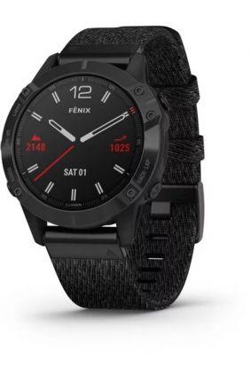 Garmin Fenix 6: ediciones Pro y Zafiro Negro DLC con correa de nylon negra