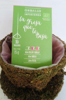 Comprar online Infusión La fresa que te besa Cola de Caballo, Hibisco y Fresa