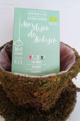 Comprar online Infusión Mordisco de Hibisco Salvia y Romero