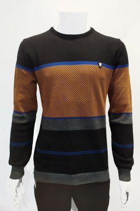 Comprar online Jersey cuello caja Dark & Fish Franjas Hombre