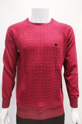 Comprar online Jersey estructura Dark & Fish rojo para hombre