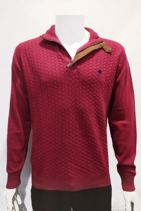Comprar online Jersey estructura rojo para hombre Urban Button