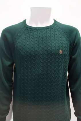 Comprar online Jersey estructura verde Urban Button para hombre