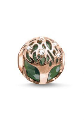 Bead árbol de la vida verde Thomas Sabo Karma beads