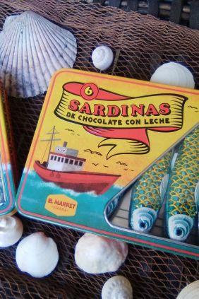 Comprar online Lata sardinas de chocolate con leche