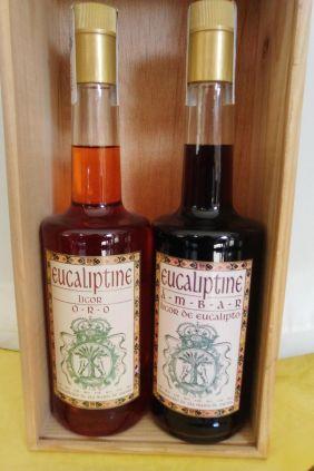 Comprar Licores Eucaliptine Artesanal Ambar y Oro