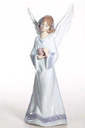 Lladró angel corazón 6908