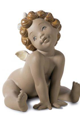 Lladró angelote gres 12451