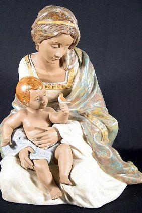 Lladró maternidad gres 12409
