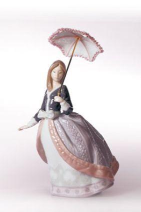 Lladró mujer parasol 5211