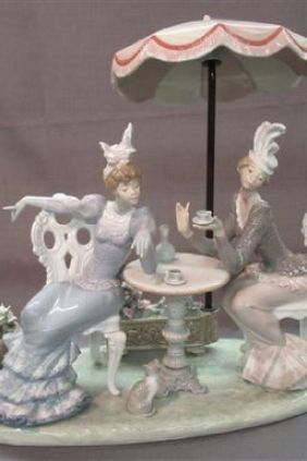 Lladró mujeres tomando el té 1511