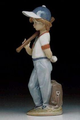 Lladró niño beisbol 7610