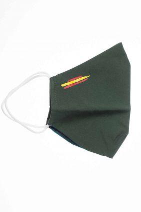 comprar Mascarilla adulto higiénica reutilizable bandera España