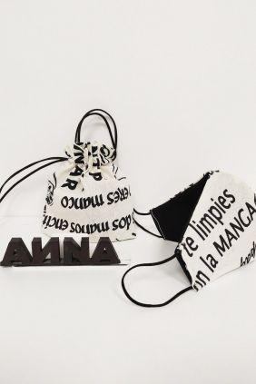 Comprar Mascarilla con portamascarillas de tipografías