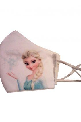 Mascarilla infantil higiénica reutilizable Frozen + adaptador