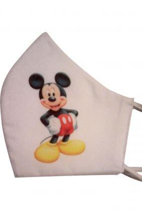 Mascarilla infantil higienica reutilizable Mickey + adaptador