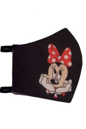 Mascarilla infantil higiénica reutilizable Minnie + adaptador