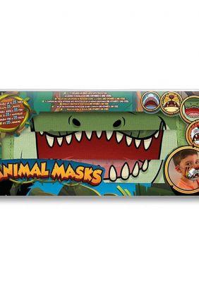 Comprar Mascarilla infantil reutilizable Animal Mask Cocodrilo
