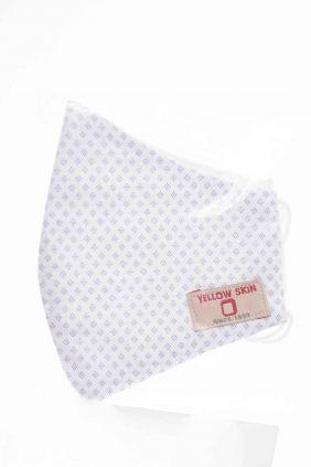 Comprar Mascarilla niños higiénica reutilizable blanco rombos