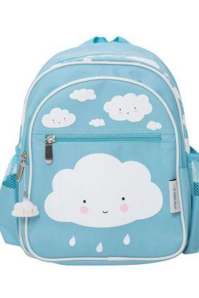 Mini-mochila nube azul