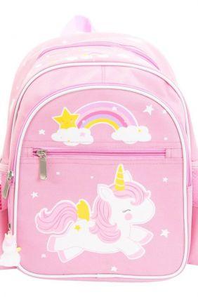 Mochila unicornio rosa