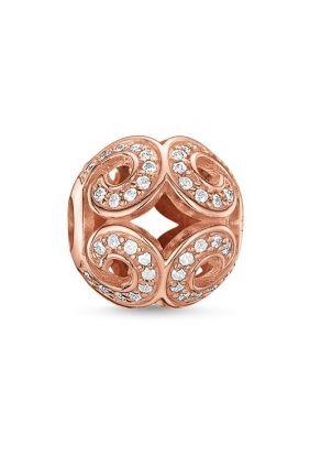 Bead ola centelleante rosado Thomas Sabo Karma beads