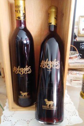 Comprar Pack 2 botellas vino Mencía Asolagados Estuche Madera