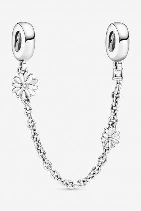 Pandora Cadena de Seguridad Flores