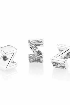 Pandora Charm en plata de ley Letra Z