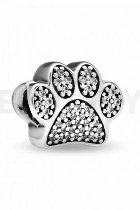 Pandora Charm plata Huella de Mascota