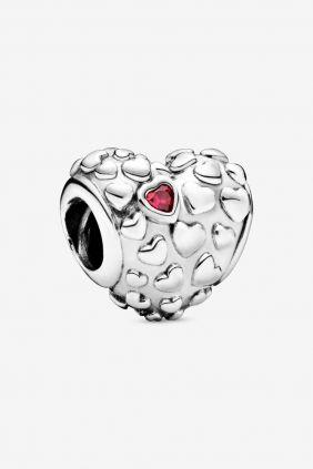 Pandora Charm plata corazon Mom in a Million