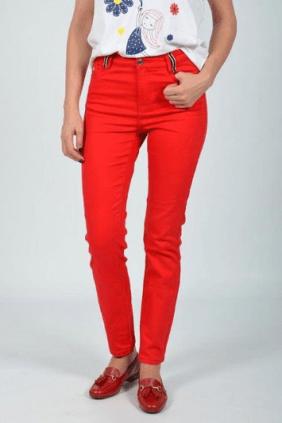 Pantalón Loneta Rojo