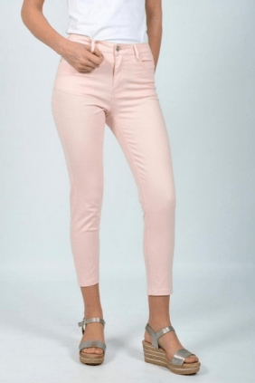 Pantalón tobillero rosa
