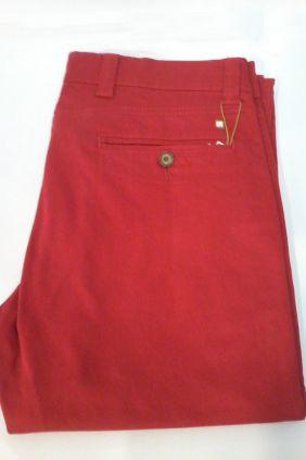 Pantalón chino Yellow Skin rojo