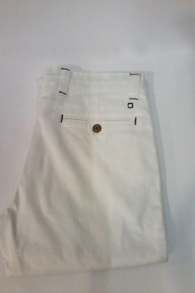 Pantalón chino Yellow Skin Blanco