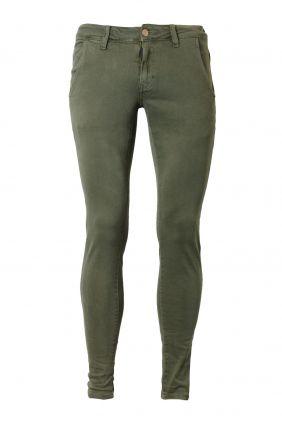 Comprar Pantalón skinny verde Dark & Fish Hombre