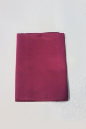 Pañuelo decorativo liso granate Marco Valenti