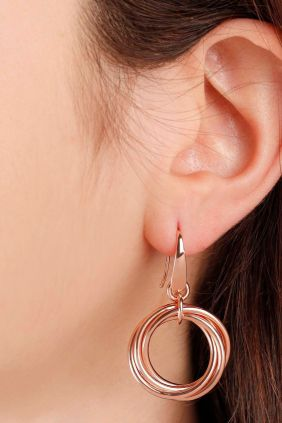 Comprar Pendientes Multicircle Dangle Earrings de Bronzallure