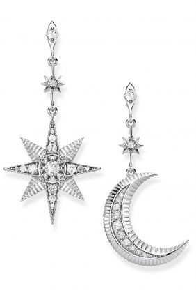 Comprar Pendientes Royalty estrella & luna Thomas Sabo H2026-643-14
