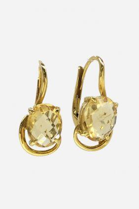 Comprar online Pendientes oro y cuarzo 17G-430-3-511-132