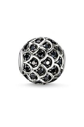 Bead pez negro Thomas Sabo Karma beads
