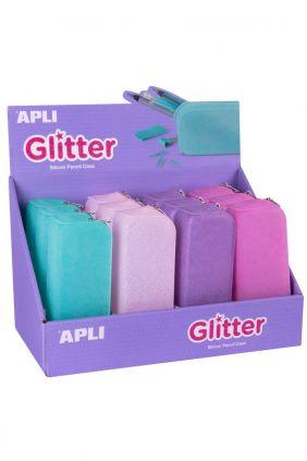 Comprar Portatodo de siliciona, lavable con purpurina Gliter
