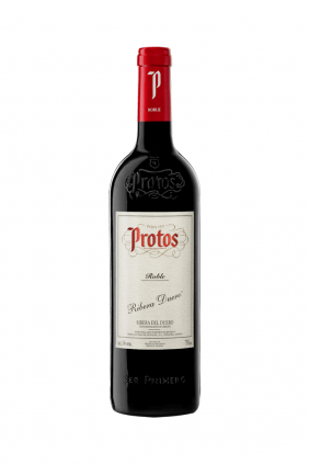 Botella vino Protos Roble