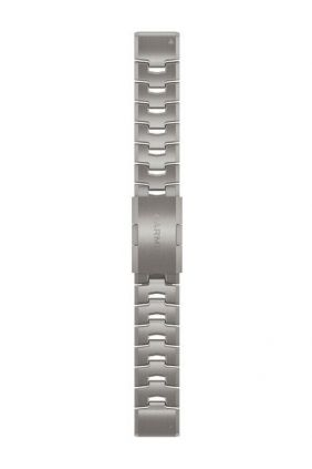 Pulsera Garmin de titanio con aberturas de ventilación QuickFit® 22