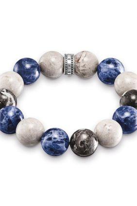 Thomas Sabo Pulsera étnico Power Bracelet azul