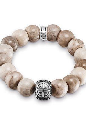 Thomas Sabo Pulsera étnico Power Bracelet marrón Oh my god!