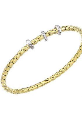 Comprar Pulsera oro amarillo flexible Chimento 1B00955B1T170