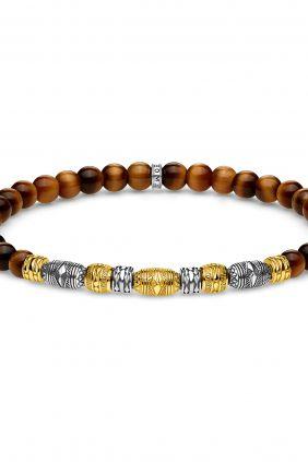 Thomas Sabo Pulsera talisman bicolor oro